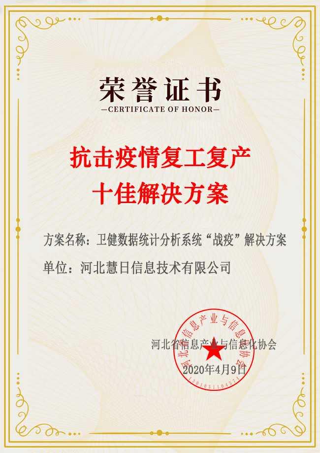 喜讯 | 河北省信息产业与信息化协会十佳方案评选结果公示,万博官网man手机登陆榜上有名!